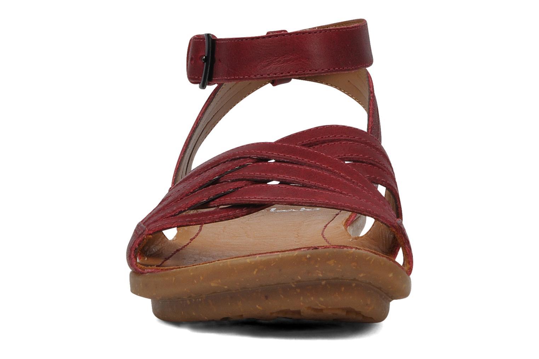 Sandals Clarks Powder mist Red model view