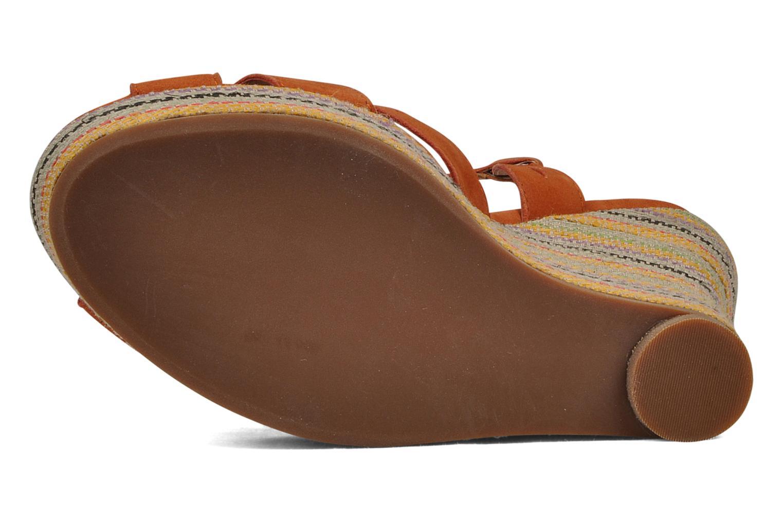 Sandales et nu-pieds Jeffrey Campbell Peaches Marron vue haut