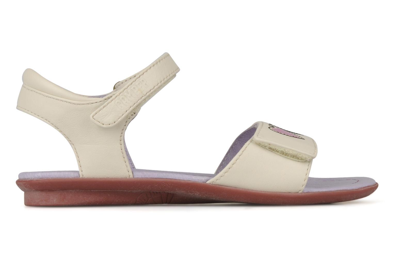 Sandali e scarpe aperte Camper Tws 80267 Bianco immagine posteriore