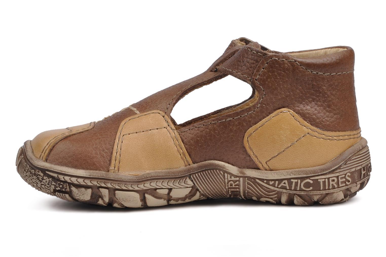 Bottines et boots GBB Loic Marron vue face