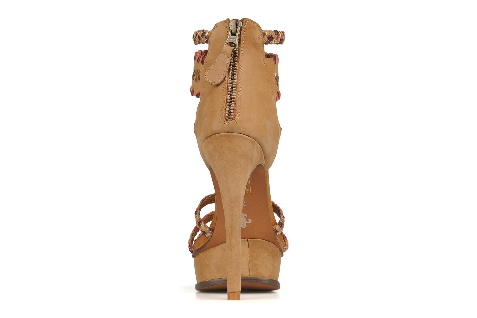 Sandals Friis & company Vaike Beige view from the right