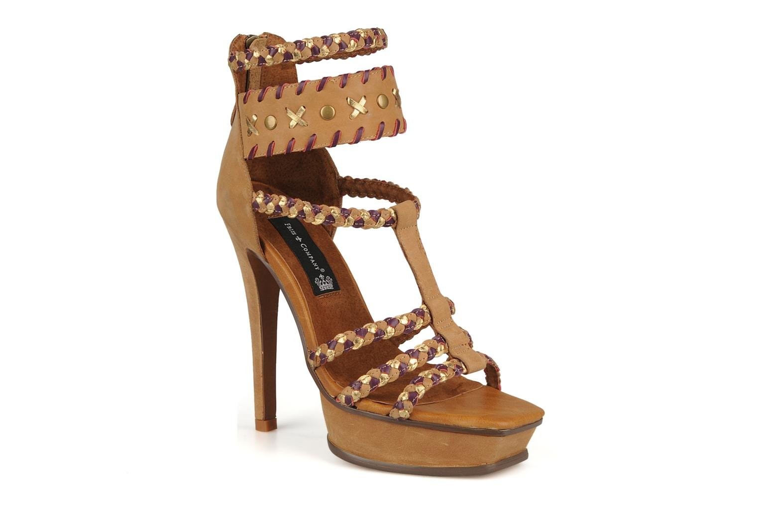 Sandals Friis & company Vaike Beige detailed view/ Pair view