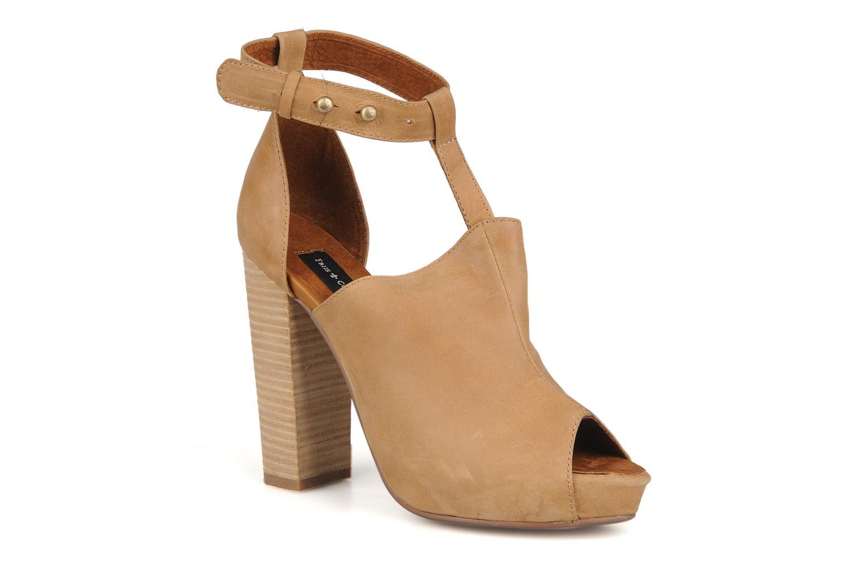 Zapatos promocionales Friis & company Valerie (Beige) - Sandalias   Los zapatos más populares para hombres y mujeres