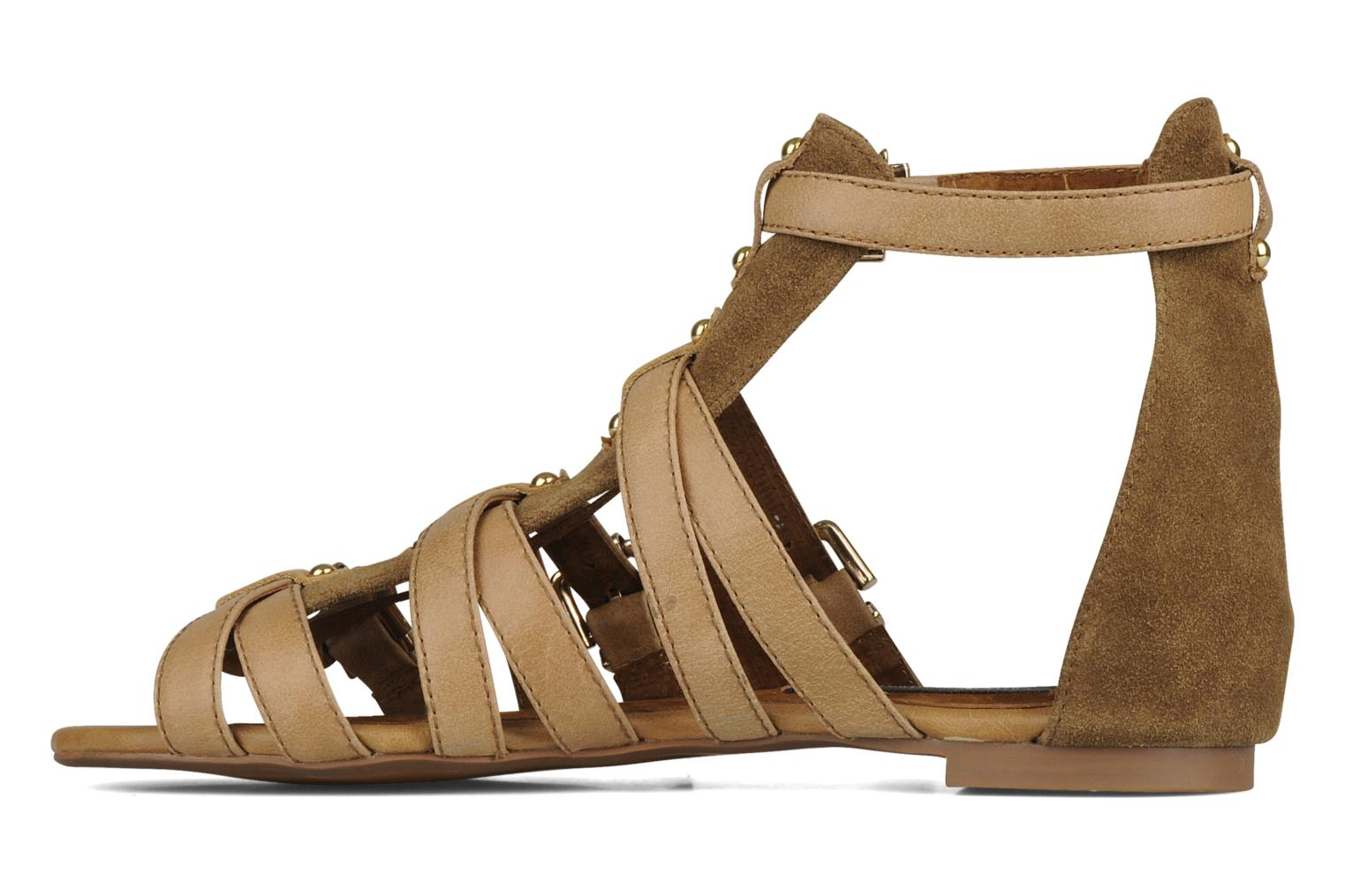 Sandals Friis & company Varinka Brown front view