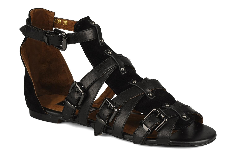 Sandals Friis & company Varinka Black detailed view/ Pair view