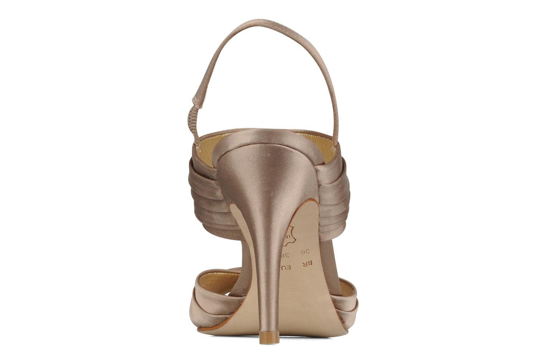 Sandales et nu-pieds Miezko Rebecca Beige vue droite