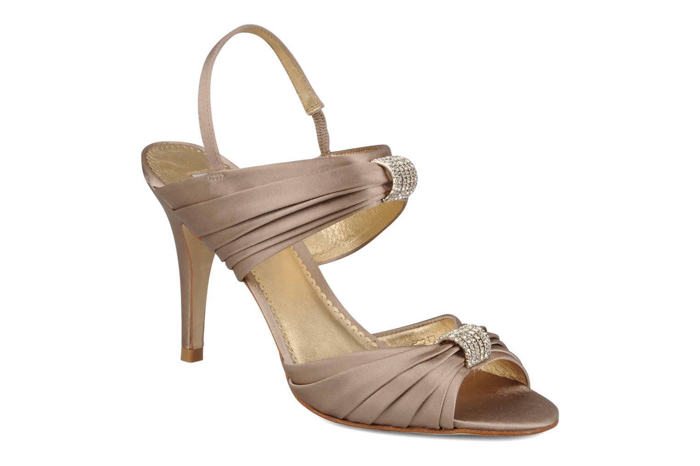 Sandales et nu-pieds Miezko Rebecca Beige vue détail/paire