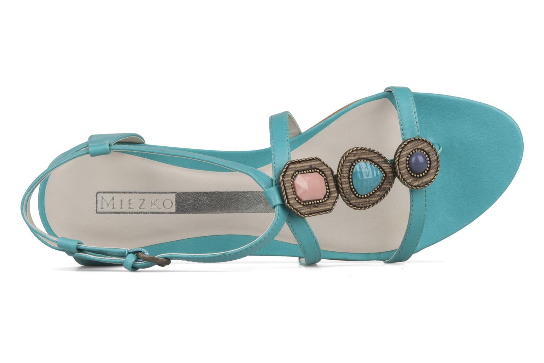 Sandales et nu-pieds Miezko Katilia Bleu vue gauche