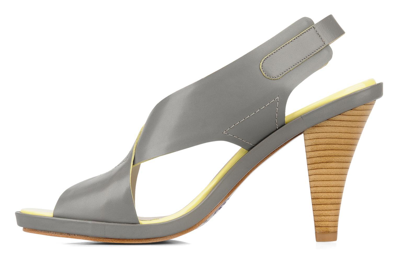 Sandali e scarpe aperte Miezko Hugalia Marrone immagine frontale