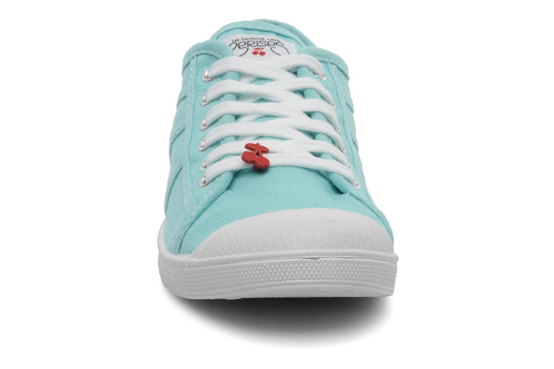 Sneaker Le temps des cerises Basic 02 blau schuhe getragen