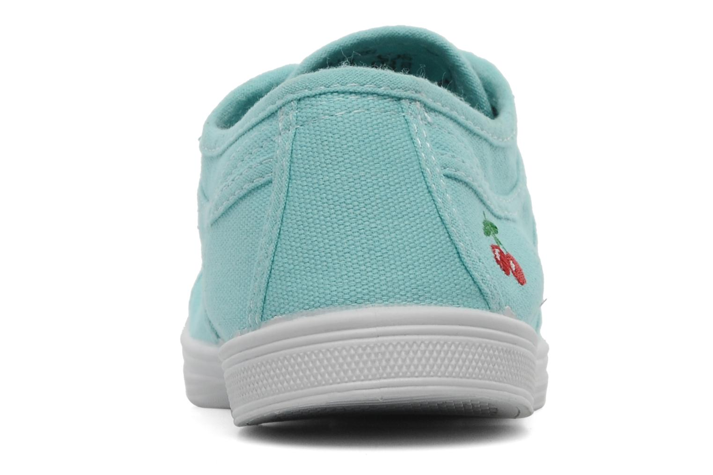 Sneaker Le temps des cerises Basic 02 blau ansicht von rechts