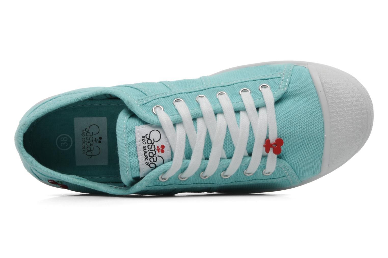 Sneakers Le temps des cerises Basic 02 Blauw links