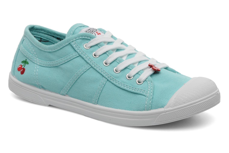 Sneakers Le temps des cerises Basic 02 Blauw detail