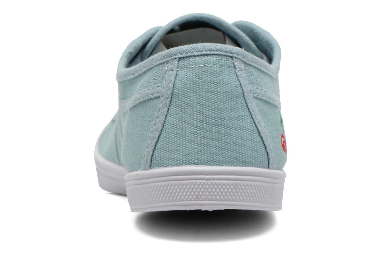 Sneakers Le temps des cerises Basic 02 Groen rechts