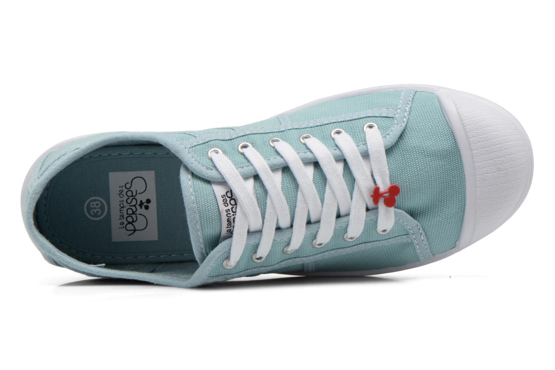 Sneakers Le temps des cerises Basic 02 Groen links