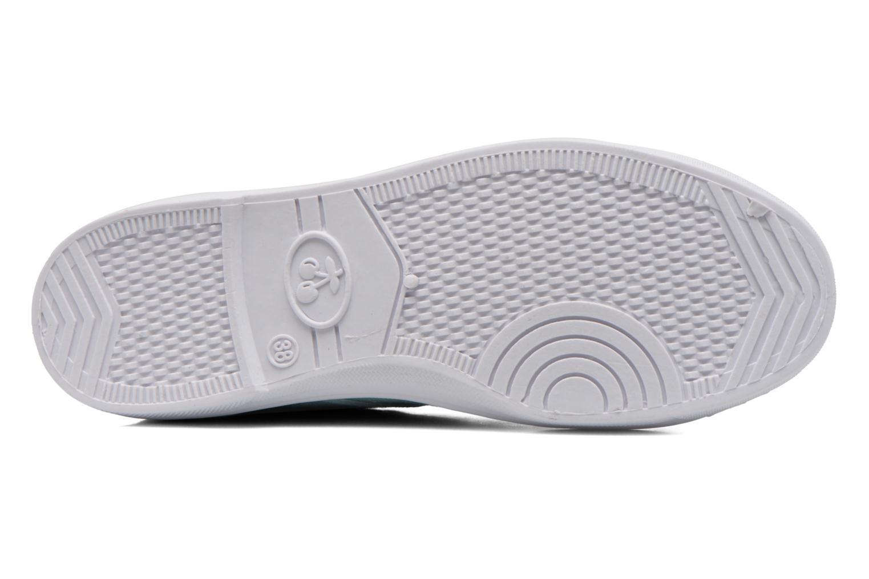 Sneakers Le temps des cerises Basic 02 Groen boven