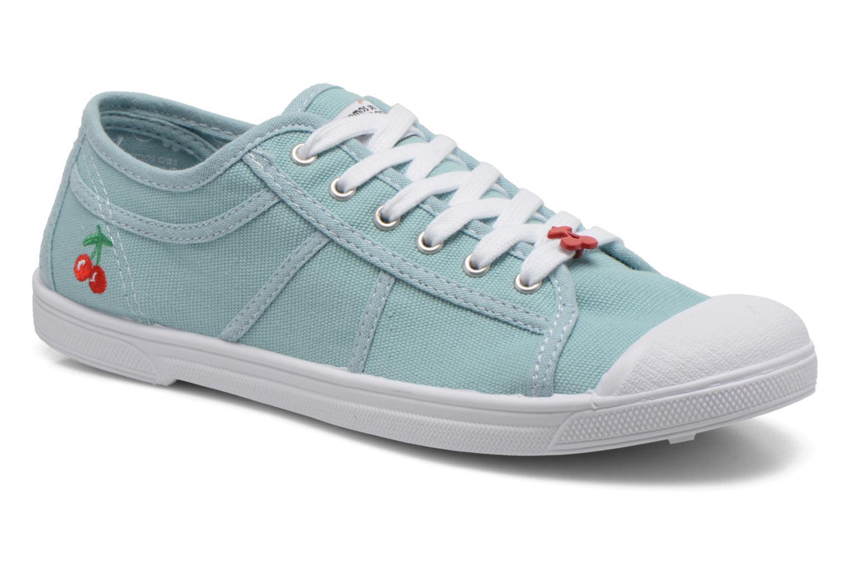 Sneakers Le temps des cerises Basic 02 Groen detail