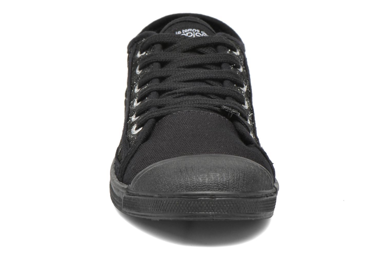 Sneaker Le temps des cerises Basic 02 silber schuhe getragen