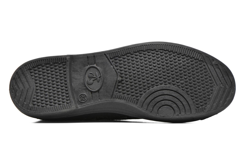 Sneaker Le temps des cerises Basic 02 silber ansicht von oben