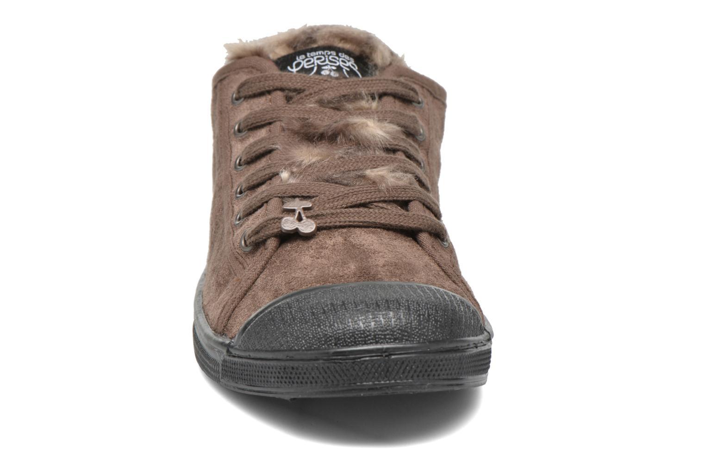 Sneakers Le temps des cerises Basic 02 Bruin model