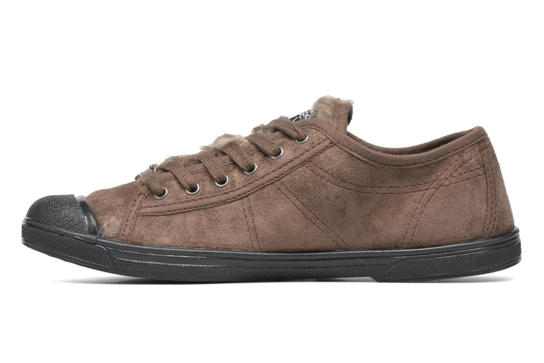 Sneakers Le temps des cerises Basic 02 Bruin voorkant