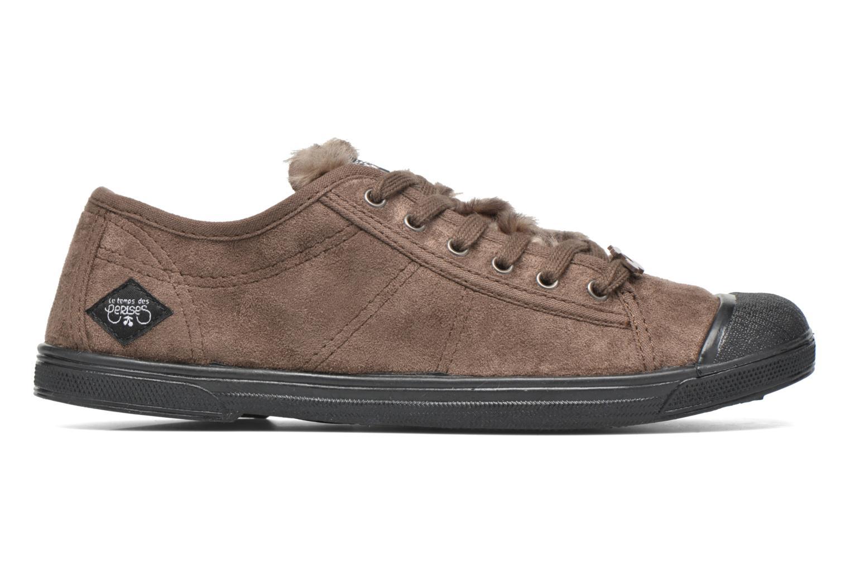 Sneakers Le temps des cerises Basic 02 Bruin achterkant