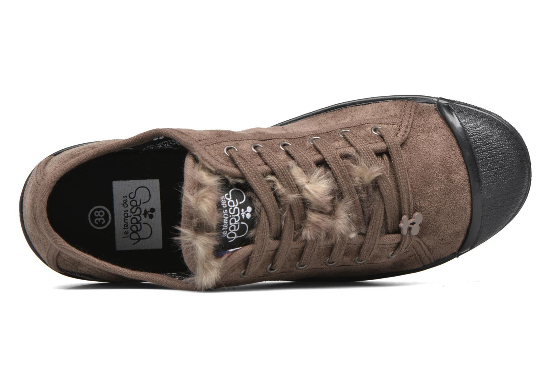 Sneakers Le temps des cerises Basic 02 Bruin links