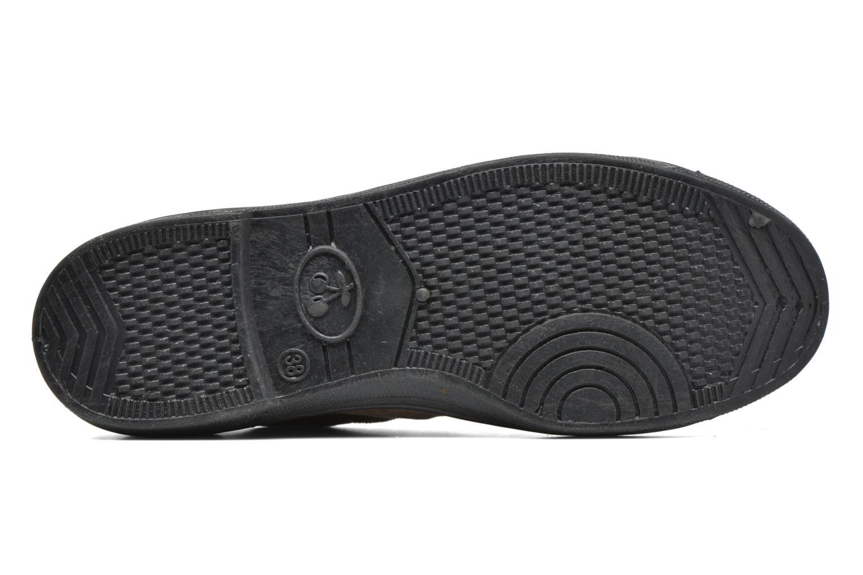 Sneakers Le temps des cerises Basic 02 Bruin boven
