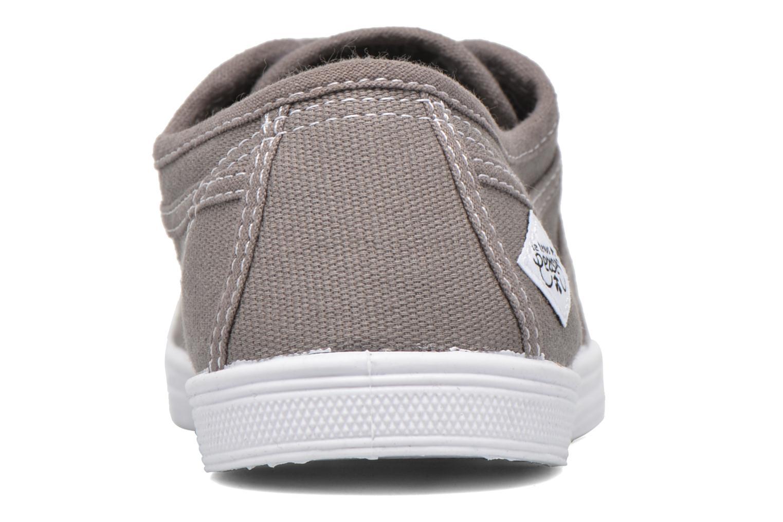 Sneaker Le temps des cerises Basic 02 braun ansicht von rechts
