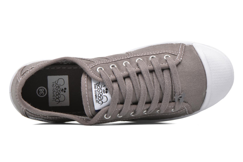 Sneaker Le temps des cerises Basic 02 braun ansicht von links