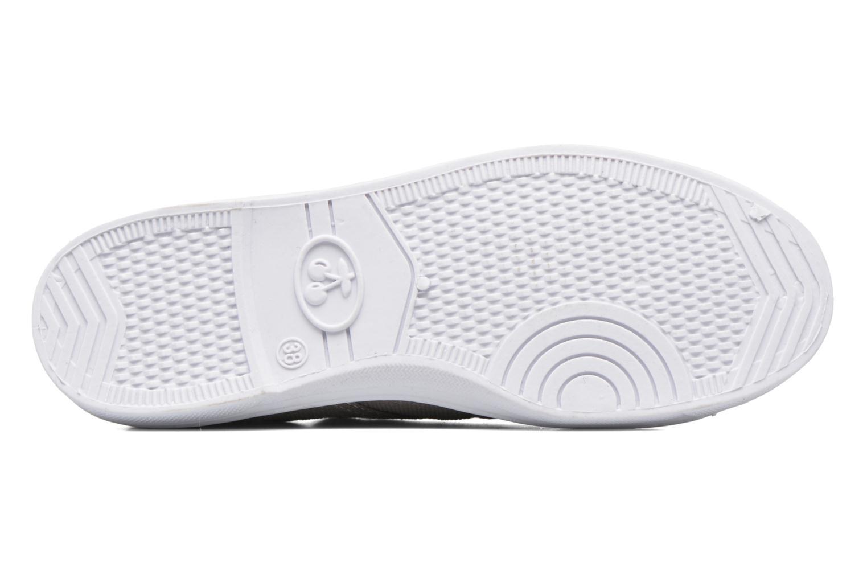 Sneaker Le temps des cerises Basic 02 braun ansicht von oben