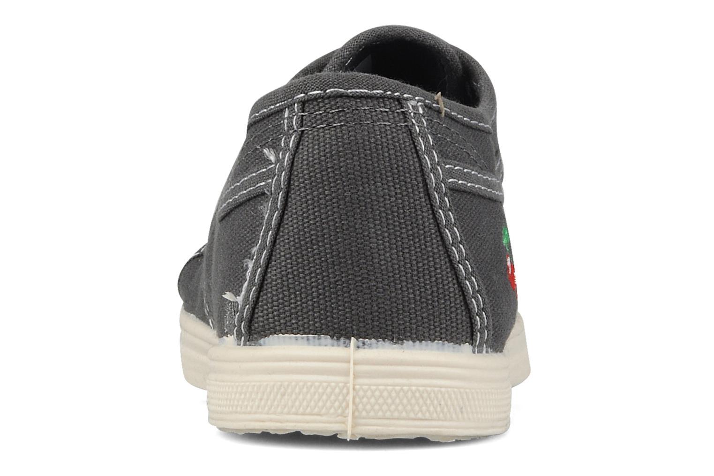 Sneaker Le temps des cerises Basic 02 grau ansicht von rechts