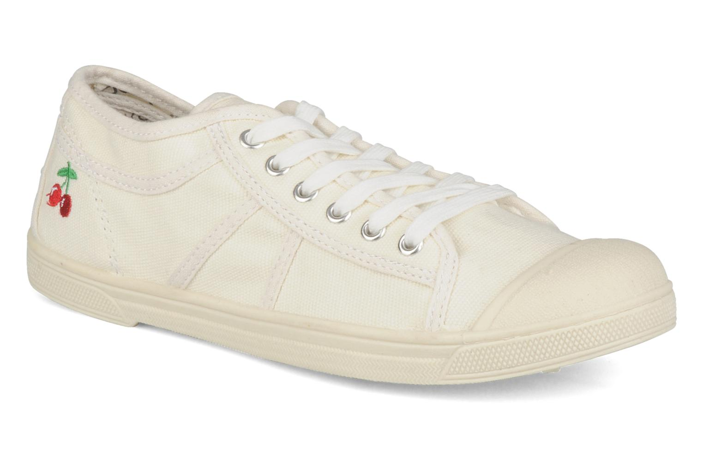 Sneakers Le temps des cerises Basic 02 Beige detail