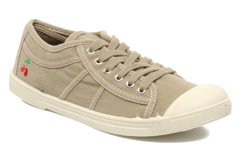 Sneaker Le temps des cerises Basic 02 beige detaillierte ansicht/modell
