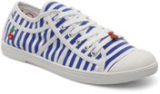 Stripe Navy White