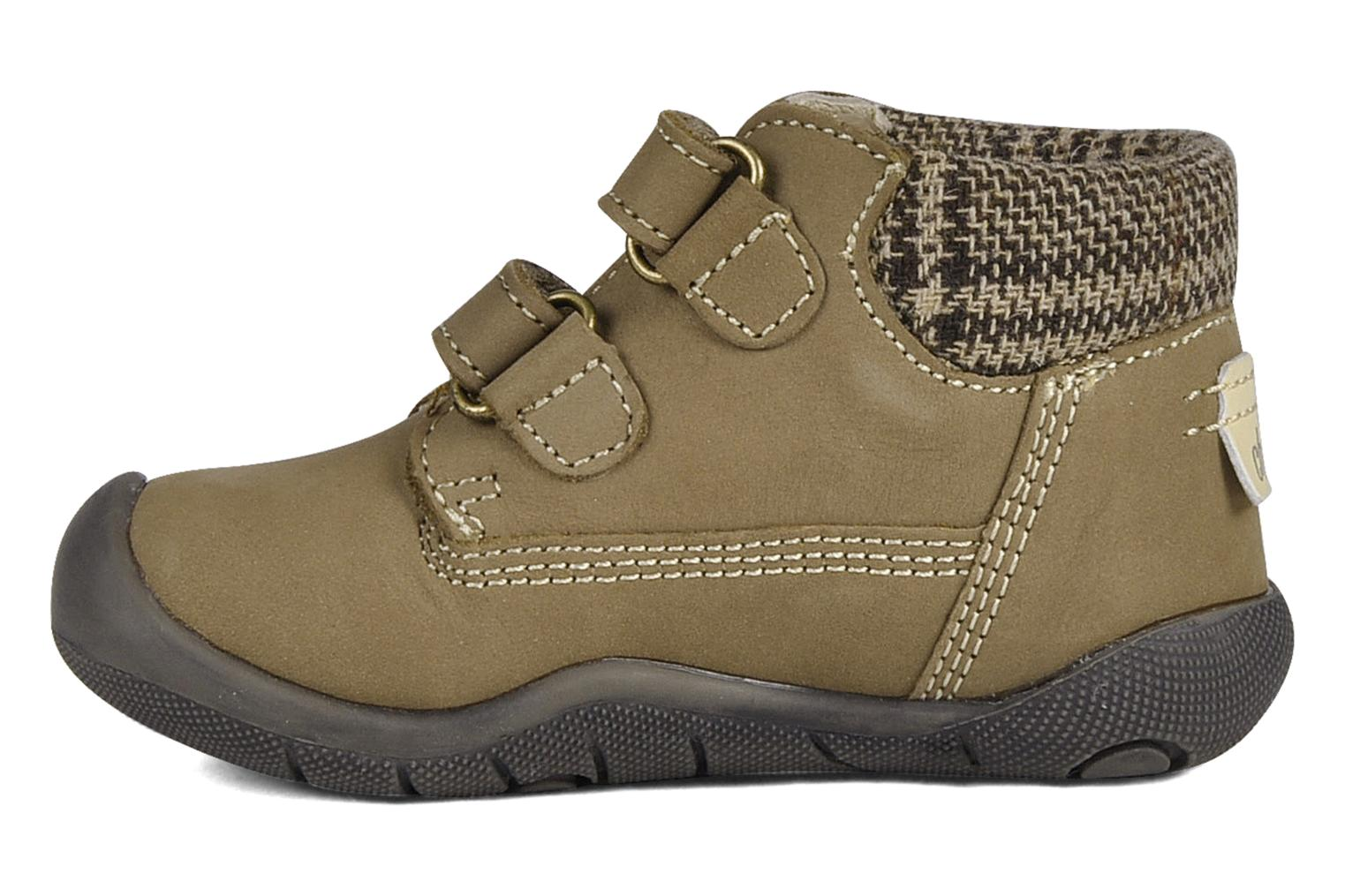Velcro shoes Chicco Guapito Brown front view