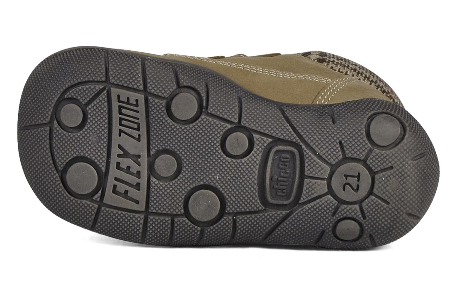 Velcro shoes Chicco Guapito Brown view from above