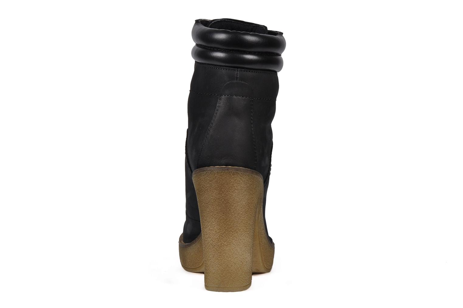 Ankle boots Jonak Galina Black view from the right