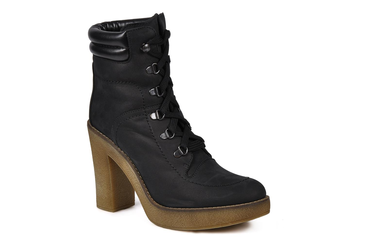 Ankle boots Jonak Galina Black detailed view/ Pair view