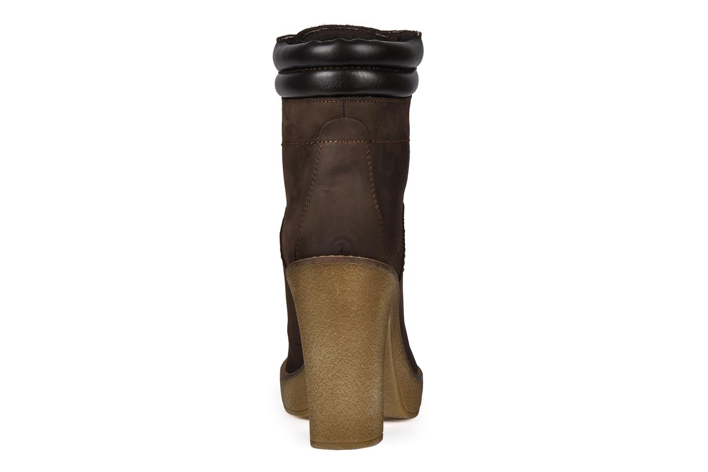 Bottines et boots Jonak Galina Marron vue droite