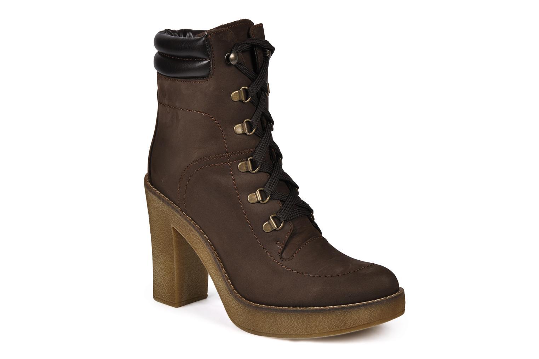 Bottines et boots Jonak Galina Marron vue détail/paire