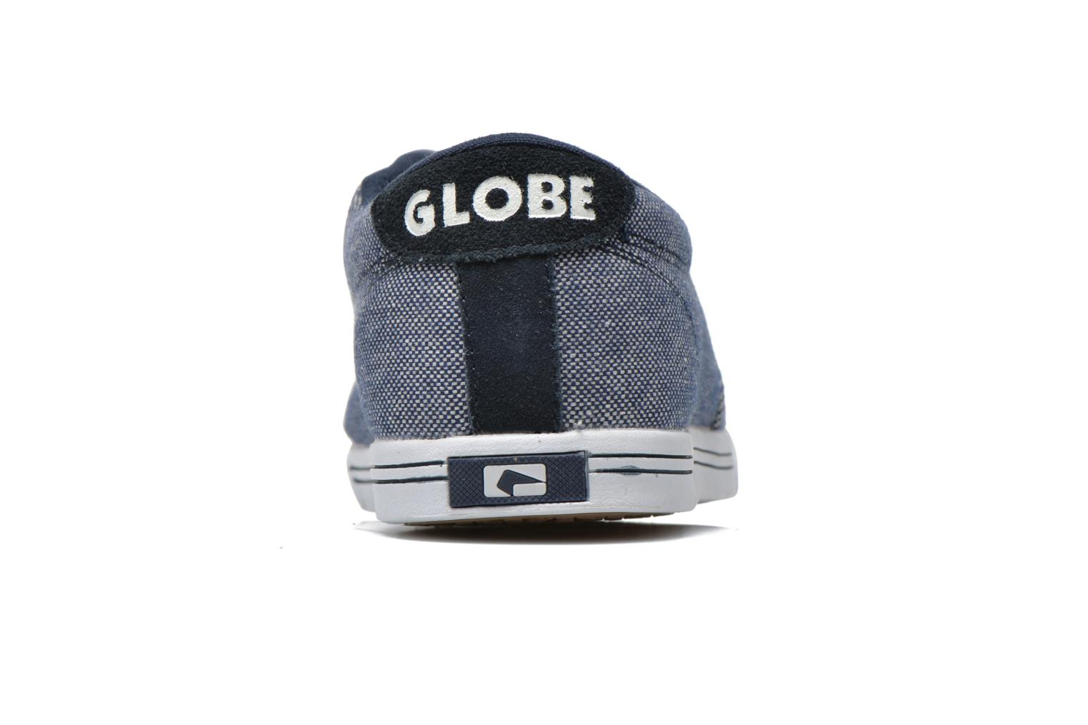 Sport shoes Globe Lighthouse slim Blue view from the right