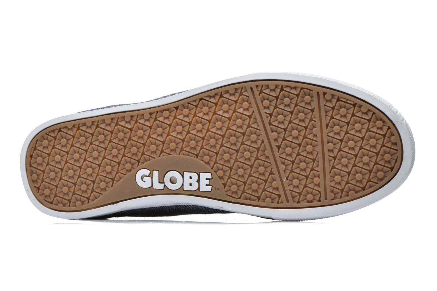 Sport shoes Globe Lighthouse slim Blue view from above