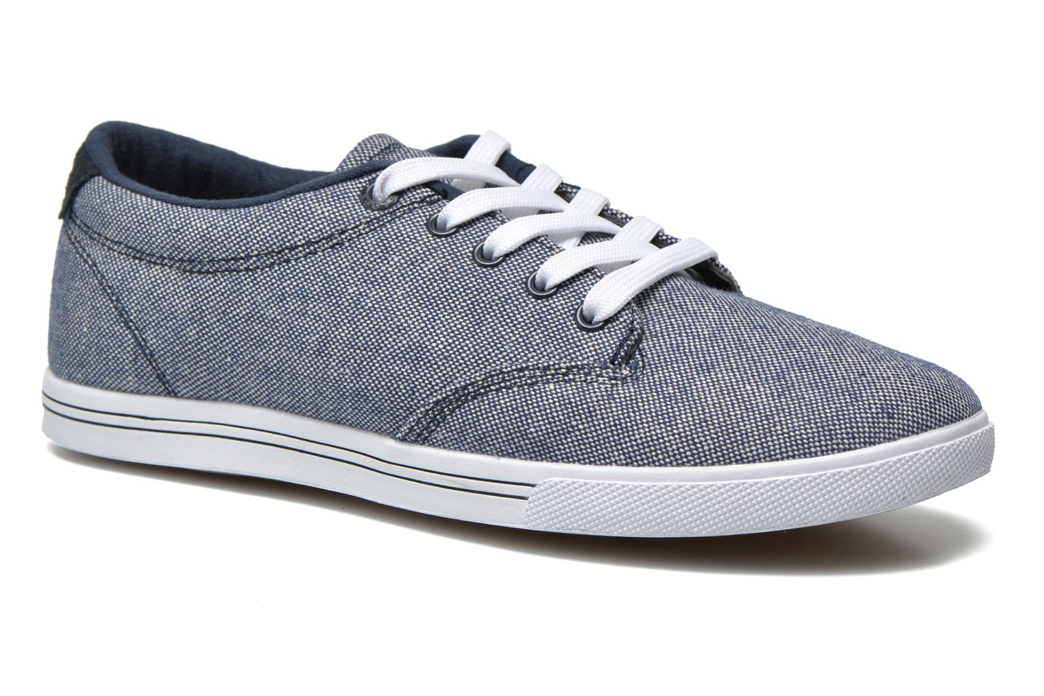 Sport shoes Globe Lighthouse slim Blue detailed view/ Pair view