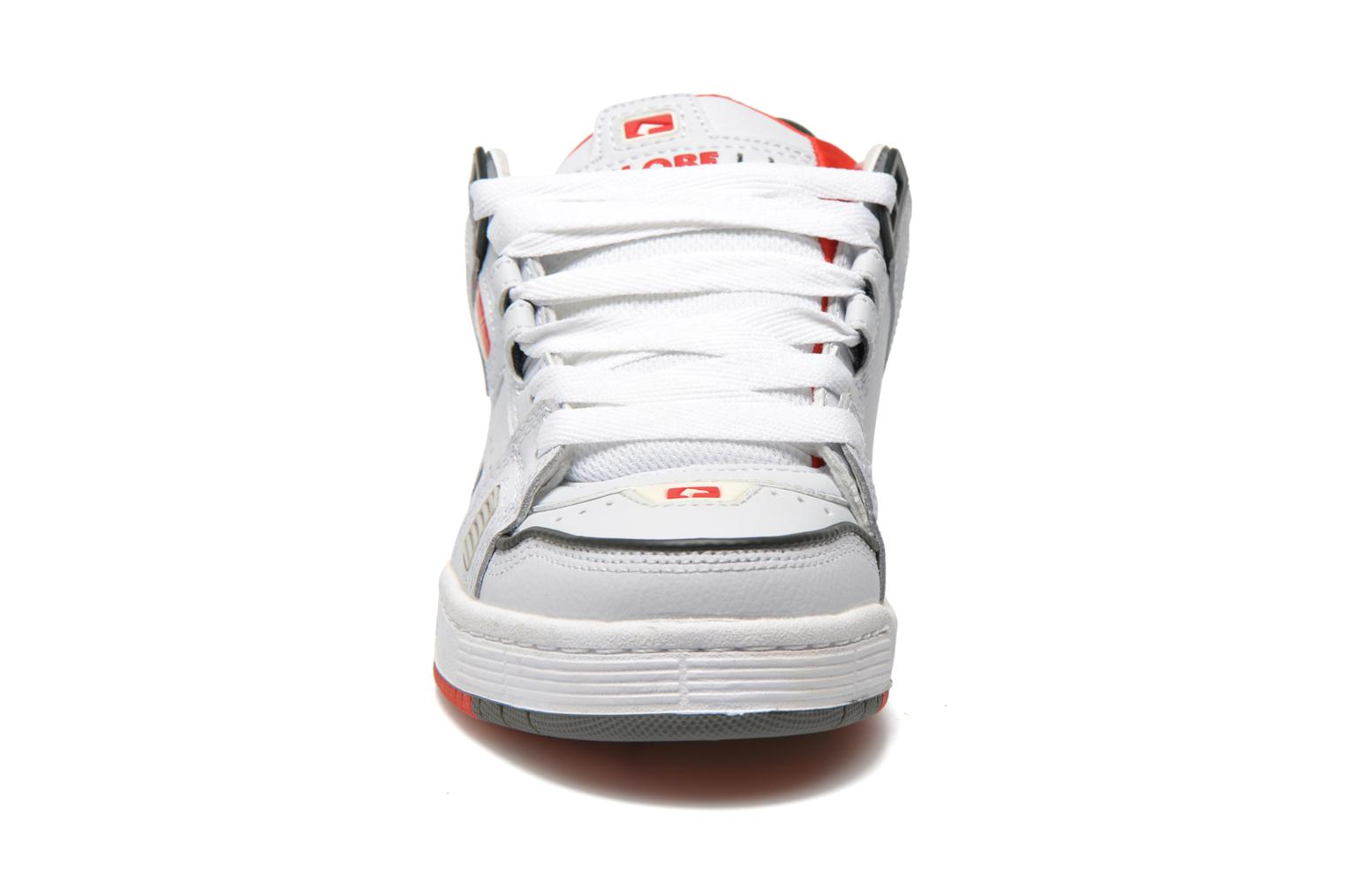 Sabre White grey red
