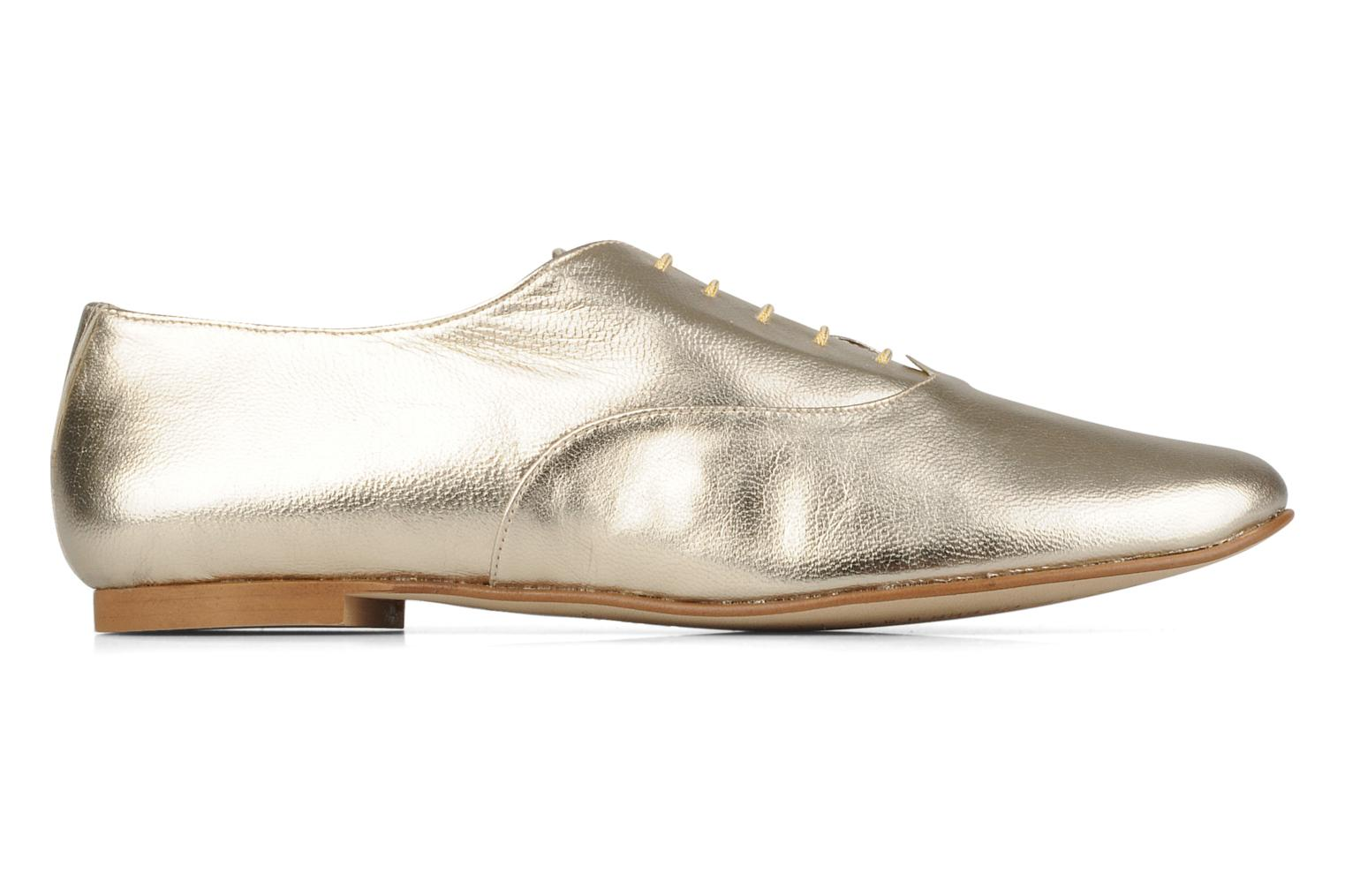 Lace-up shoes Emma Go Juddy Bronze and Gold back view
