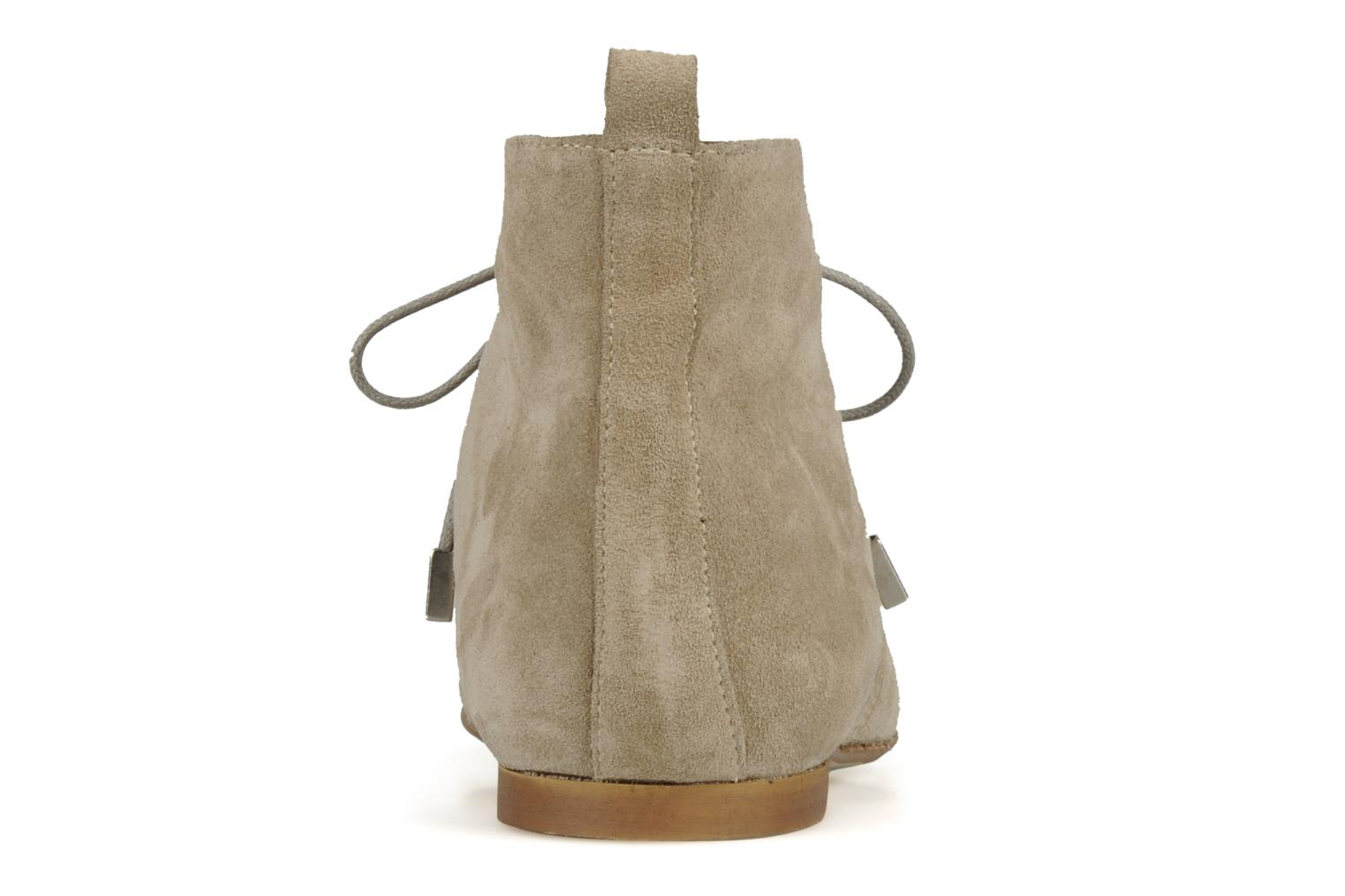 Ankle boots Emma Go Stella Beige view from the right