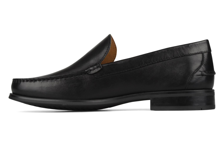 Loafers Geox U dario b Black front view