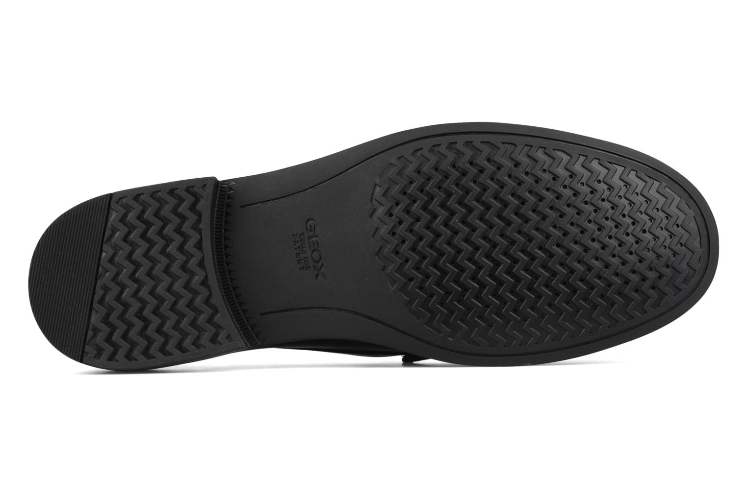 Loafers Geox U dario b Black view from above