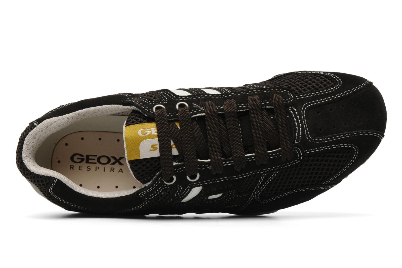 Sneaker Geox U snake m braun ansicht von links